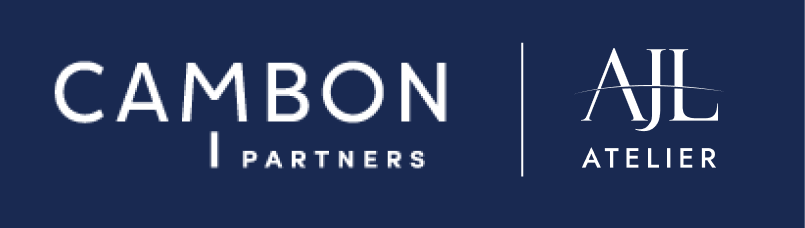 Partner logo of AJL Atelier and Cambon Partners on financial services