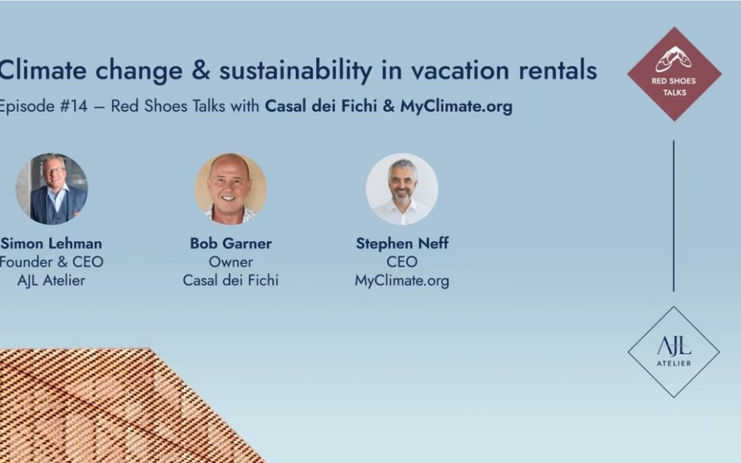 Red Shoes Talks #14: Climate change and sustainability in short-term rentals with Bob Garner & Stephen Neff