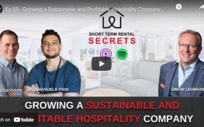 How to start and grow your sustainable, profitable short-term rental business: Simon Lehmann on STR Secrets